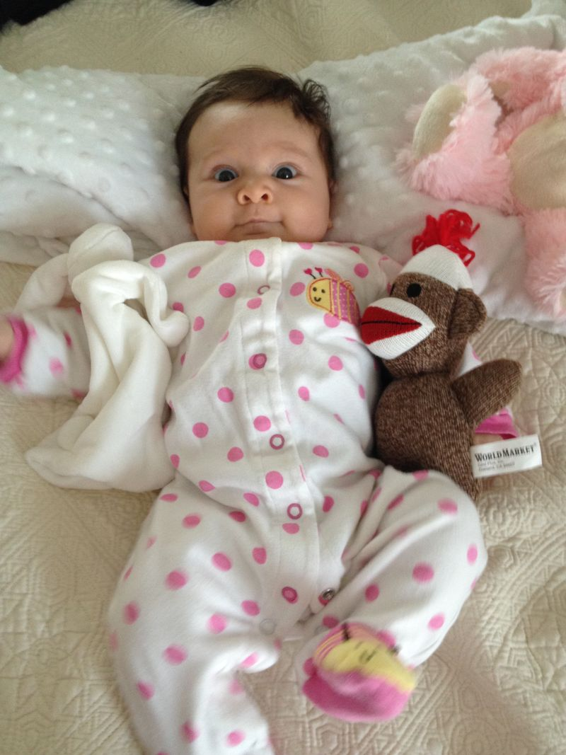 Annabelle with bunny
